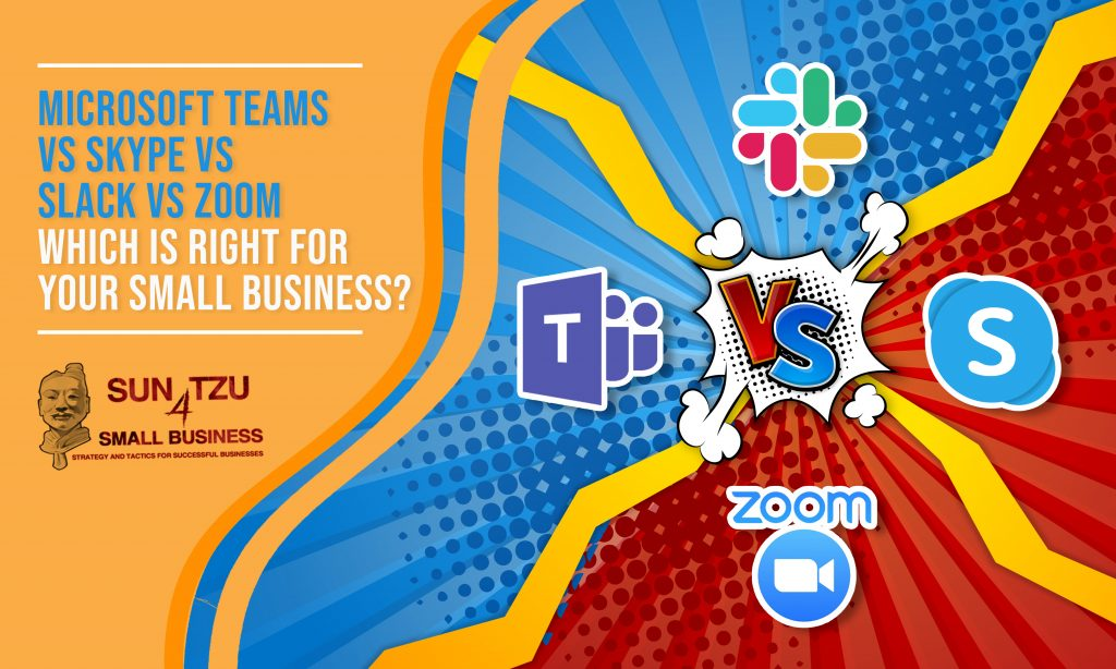 Teams vs Skype vs Zoom vs Slack